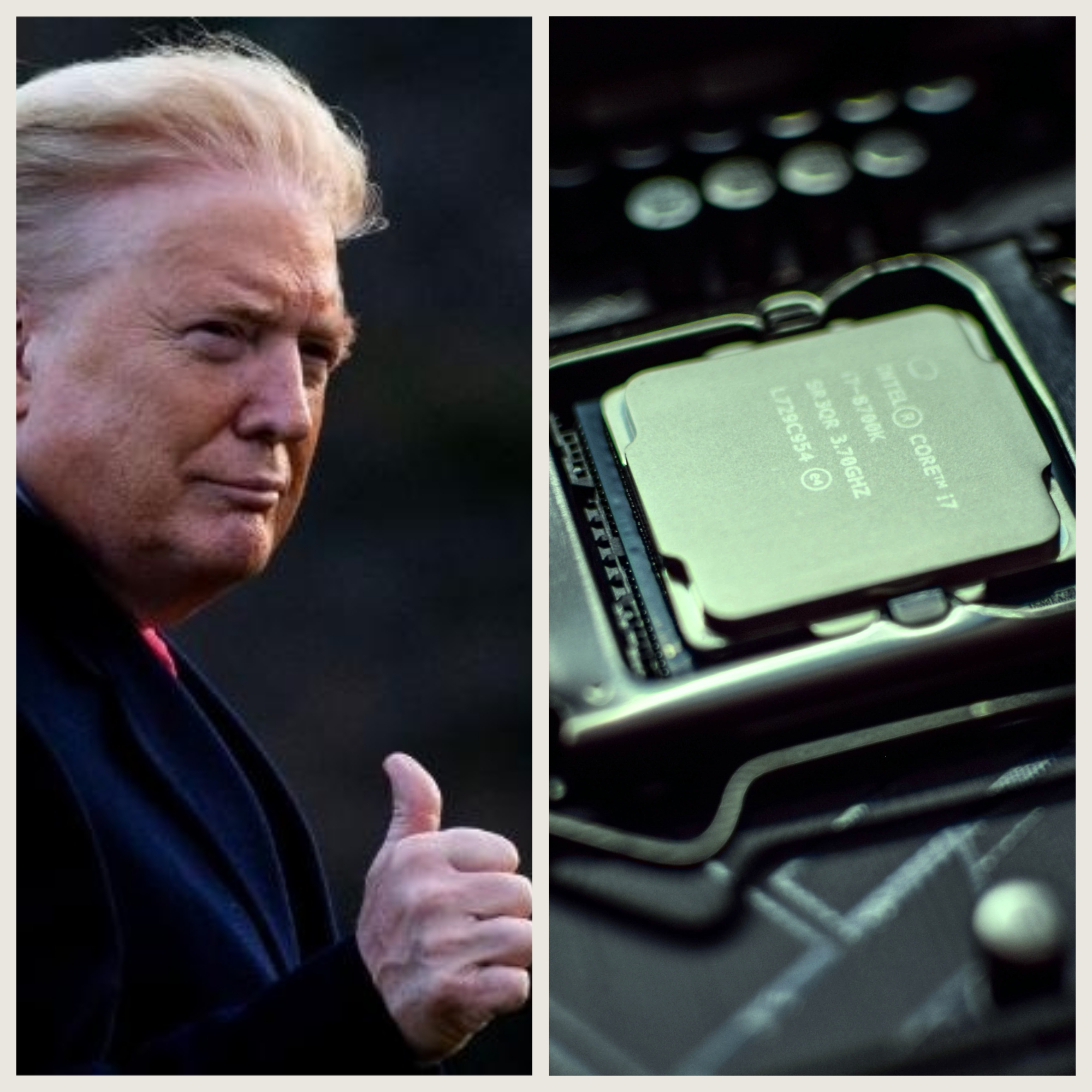 Photo of توافق ترامپ با شرکت اینتل برای تولید پردازنده در خاک آمریکا