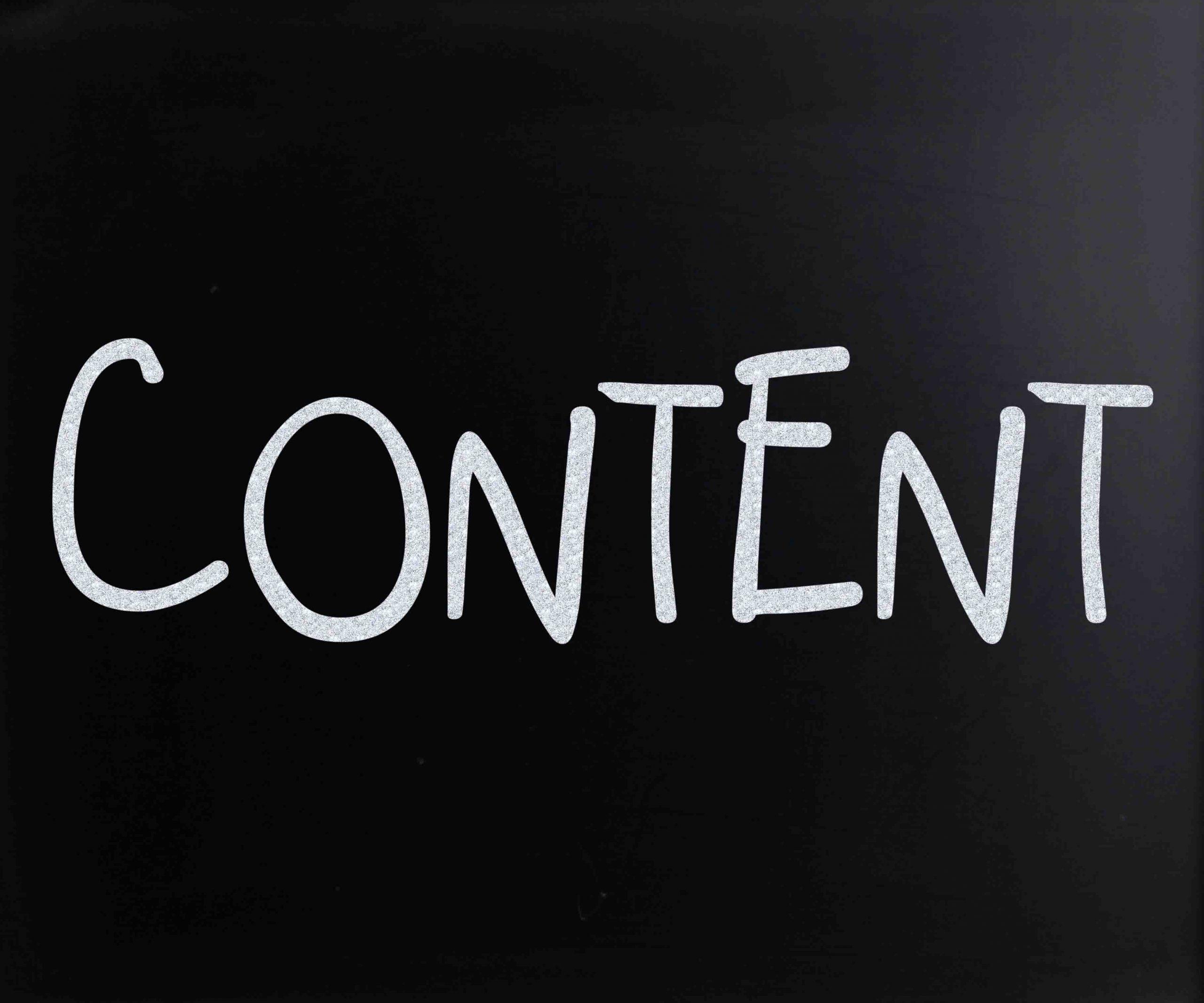 Photo of Content یا محتوا چیست؟