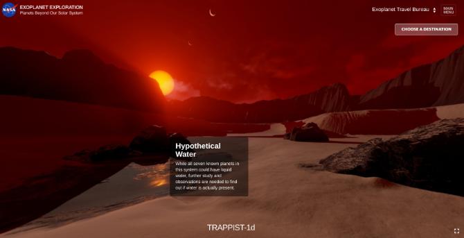 سفر مجازی به یک سیاره جدید