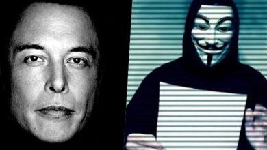Photo of ایلان ماسک درمقابل گروه ANONYMOUS